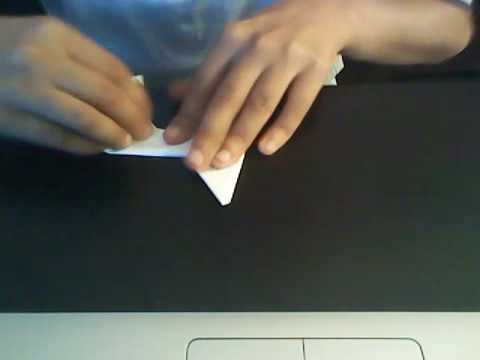 how to make 1 paper ninja star with 1 paper