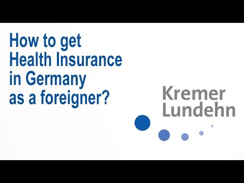 How to get Comprehensive Health Insurance in Germany as a foreigner