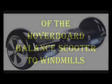 wind turbine ,how to made a generator from howerboard