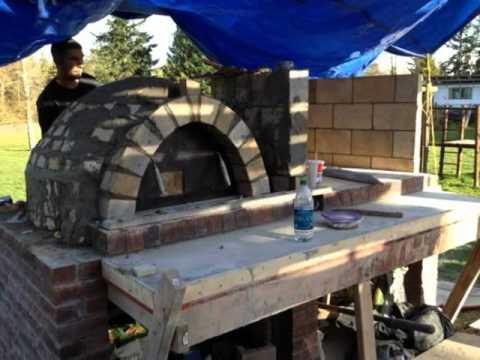 pizza oven / Italian bbq build