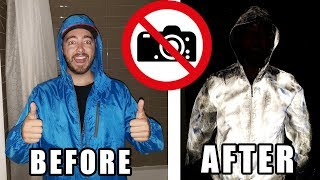 How To Make an ANTI PAPARAZZI Jacket!   REFLECTOR SPRAY PAINT