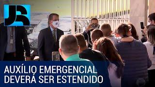Governo estuda prorrogação do pagamento do auxílio emergencial