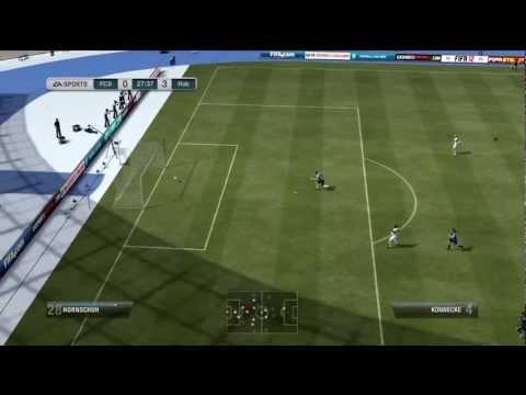 Fifa 12 - Goalkeeper Longshot from Own Half!!!
