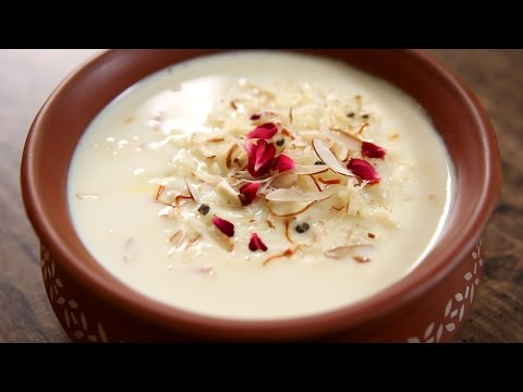 Rice Kheer Recipe | How To Make Chawal Ki Kheer At Home | The Bombay Chef - Varun Inamdar