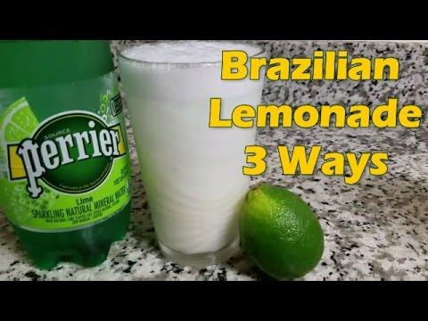 Brazilian Lemonade Recipe - 3 Ways - VEDA Day 12