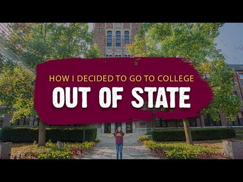 How I Decided to Go to College Out of State – Ren