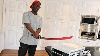 EXPERIMENT Glowing 1000 degree KNIFE VS XBOX ONE