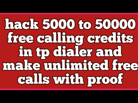 hack 5000 to 50000 free calling credits|online phone call|make a phone call online
