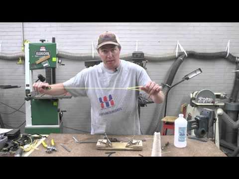 How to make Pseudo Tapered Tubular Slingshot Bands