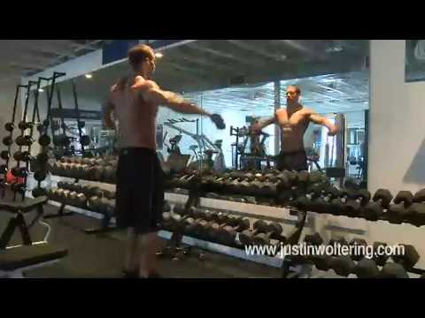Shoulder Workout for Ripped Shoulders - Justin Woltering