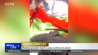 Former Yemeni president Ali Abdullah Saleh dead