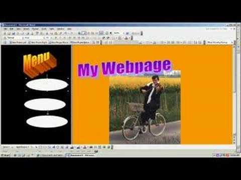 Uploading with freewebs part 3: Index and Frames page