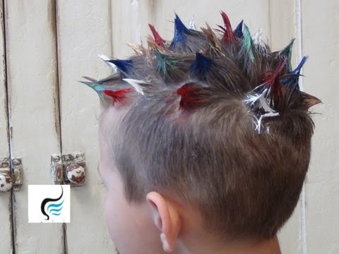 How To Style: Crazy Hairstyles For Crazy Hair Day