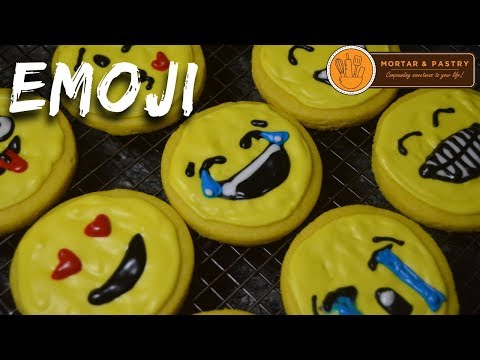 How To Make EMOJI SUGAR COOKIES with ROYAL ICING | Ep. 16 | Mortar & Pastry