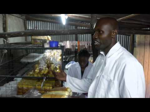Solomon runs a bakery in Nairobi, Kenya and his boys help out