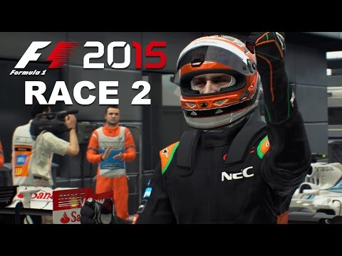 F1 2015 - CAREER MODE PART 2 - Malaysia - SO MUCH UNDERSTEER !!!