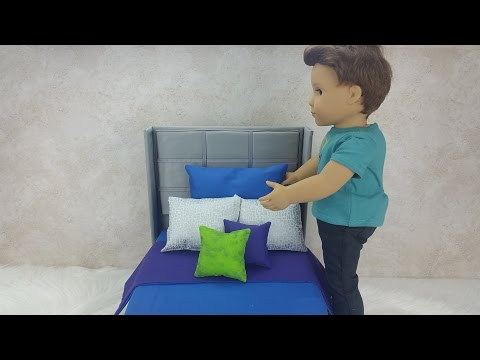 DIY Mattress and Bedding for AG Boy Doll