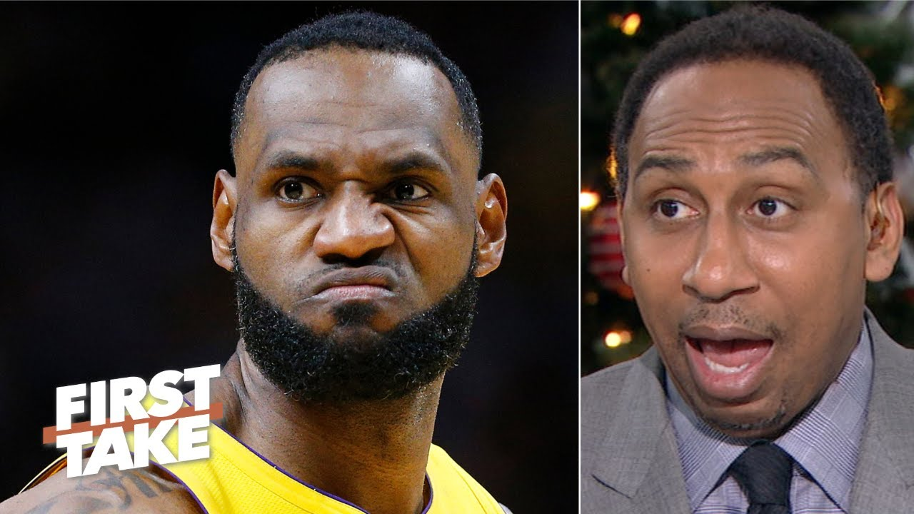 Stephen A. disagrees with LeBron being left off of Walt Frazier's NBA Mount Rushmore | First Take