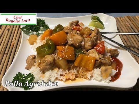Pollo Agridulce , Receta Deliciosa