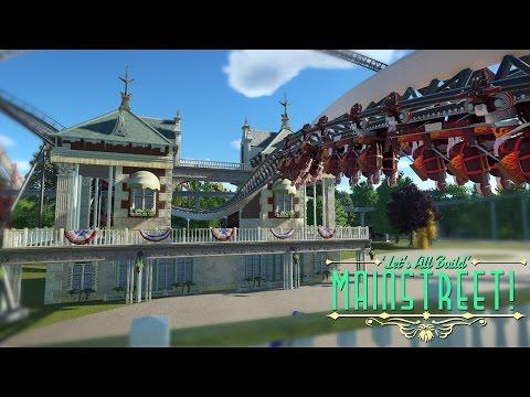 Planet Coaster - Coaster Interaction! | Building Mainstreet! #3