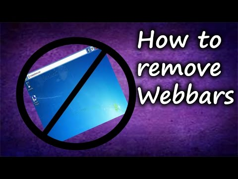 How To Remove Web Bar 2.0! (2018)