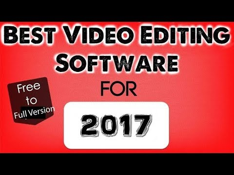 Best Free Video Editing Software||Ever 2017||Spidey Tech