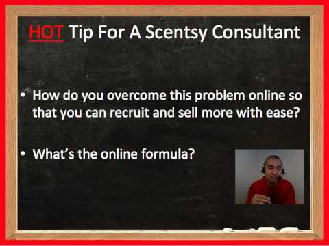 Hot Tip For A Scentsy Consultant To Crush It Online