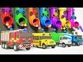 Download  Camion Tracteur Pour Enfants Voiture Apprendre Les Couleurs Train MP3,3GP,MP4