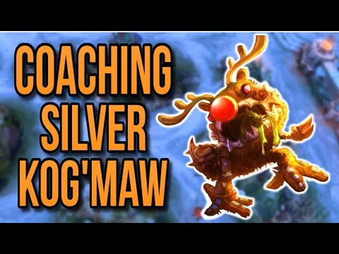 Coaching a Kog'Maw ADC | Coaching Lesson #5 - League of Legends
