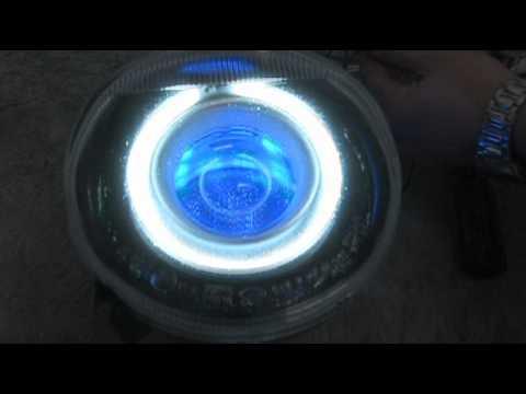 Mercedes G500 projector headlights