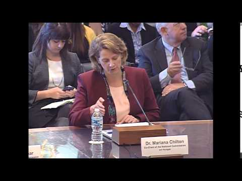 Full Committee – Public Hearing: SNAP: National Commission on Hunger
