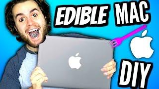 DIY Edible MacBook! | EAT Apple Products! | How To Make Eatable Mac Computer Tutorial