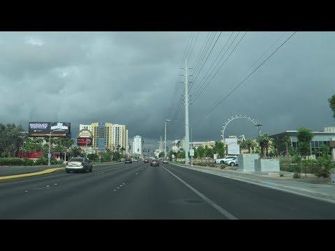 Rainy Day Vlog Walking Las Vegas Strip 2018