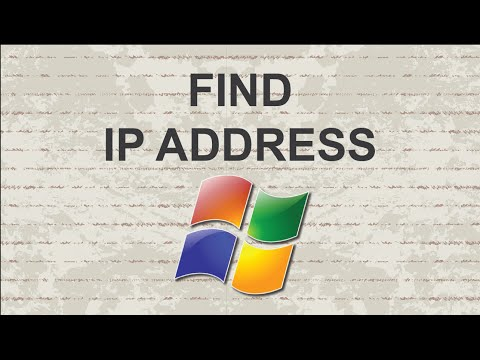 How to find ip address on Windows 7 with easy