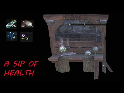 Elder Scrolls Online (ESO) - How To Create A Sip Of Health