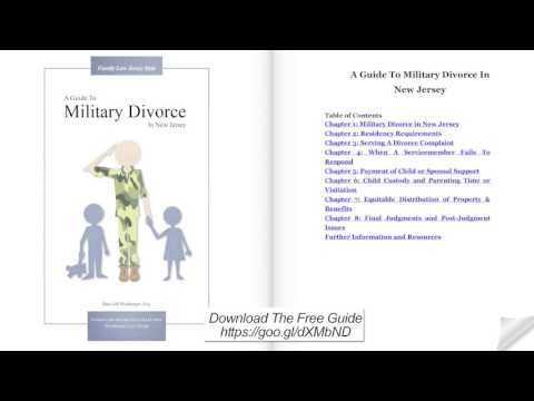 A Guide to Military Divorce in New Jersey