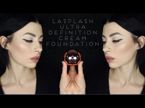 LaSplash Ultra Definition Cream Foundation | Application, Time Test & Review