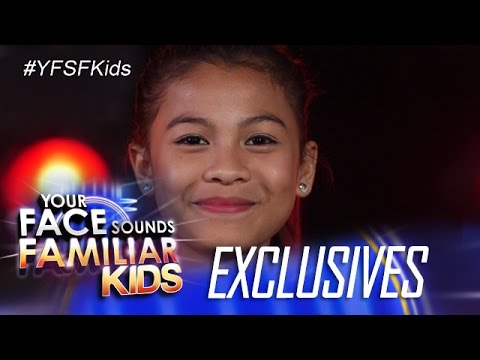 Your Face Sounds Familiar Kids Exclusive: Watch out for Lyca Gairanod at the Grand Showdown