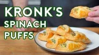 Binging with Babish: Spinach Puffs from The Emperor's New Groove