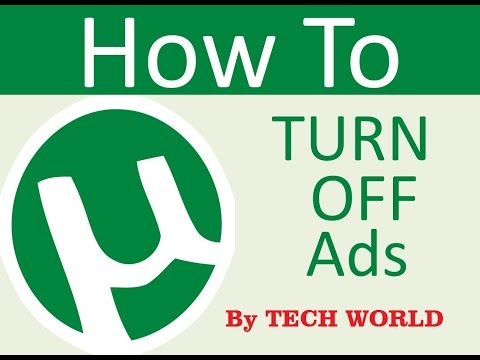 How To Remove Ads From uTorrent 3.5.0  / uTorrent 3.4.9 UPDATED APRIL 2018