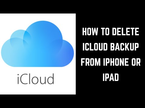 How to Delete an iCloud Backup from Apple iPhone or iPad