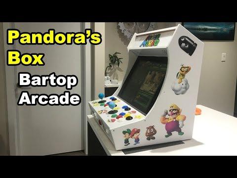 ✅ Pandora's Box Bartop Mini Arcade Build