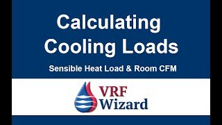 Calculating Cooling Loads and Room CFM