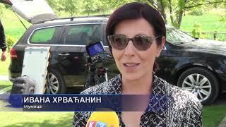 """Prijedor: TV K3 na snimanju serije """"Dobro jutro, komšija"""" 24. 05. 2020."""