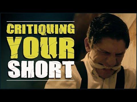 Critiquing Your Short Films