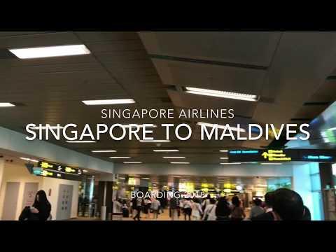 2018  Singapore Airlines  Singapore  to  Maldives