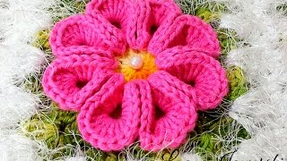 Flor Real Crochê - Passo a Passo - Luana Jaworski