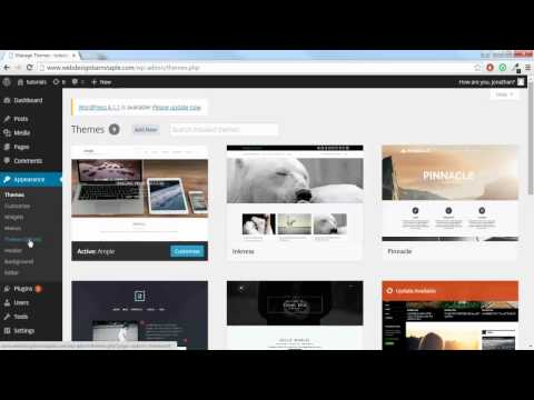How to Install a Wordpress Theme and Change the Theme Logo | Digital Assassins