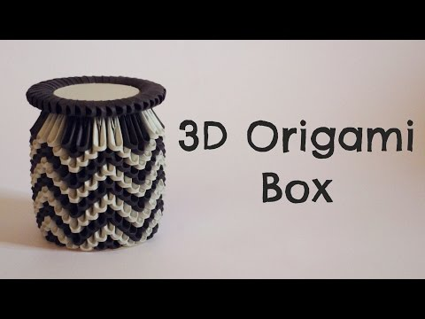 How To: 3D Origami Box - Model 1