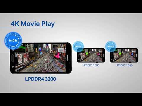 RAM Compare: LPDDR4 v LPDDR3 v LPDDR2